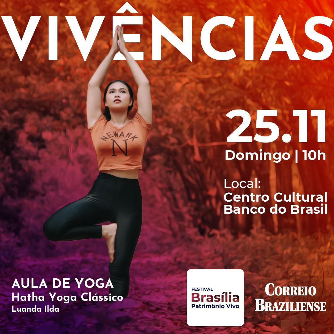 Práticas Terapêuticas gratuitas neste final de semana em Brasília