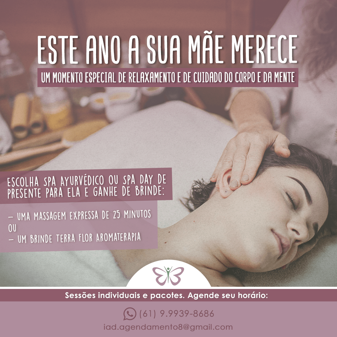 Clínica de Massoterapia oferece presente especial para o Dia das Mães