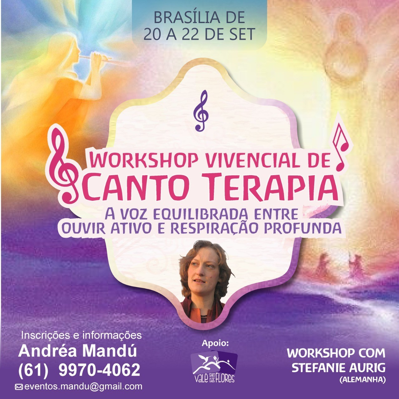 Workshop de Cantoterapia com Stefanie Aurig