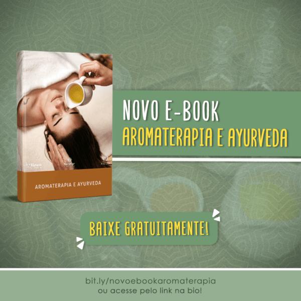 Novo E-book gratuito Aromaterapia e Ayurveda